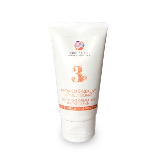 Nr.3. Schüssler natúr alapkrém érzékeny bőrre