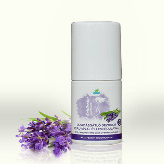 Schüssler Natur antiperspirant deo with sage and lavandel