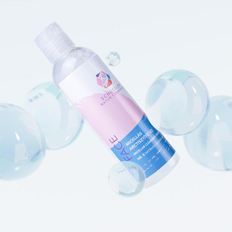 Schüssler micellás arctisztító víz