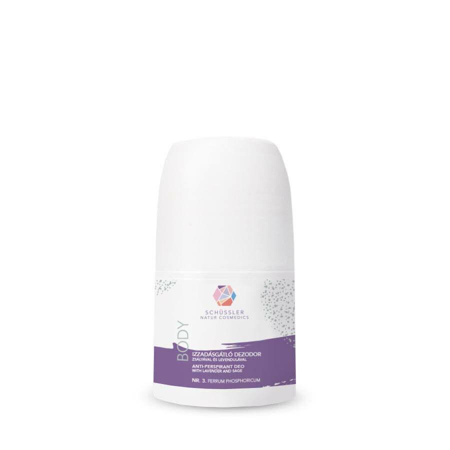Schüssler Natur antiperspirant deodorant with sage and lavender